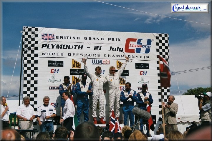 Spirit Of Norway victorious at the British Grand Prix 2002