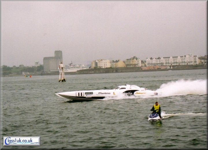 Maritimo Offshore at the British Grand Prix 2003