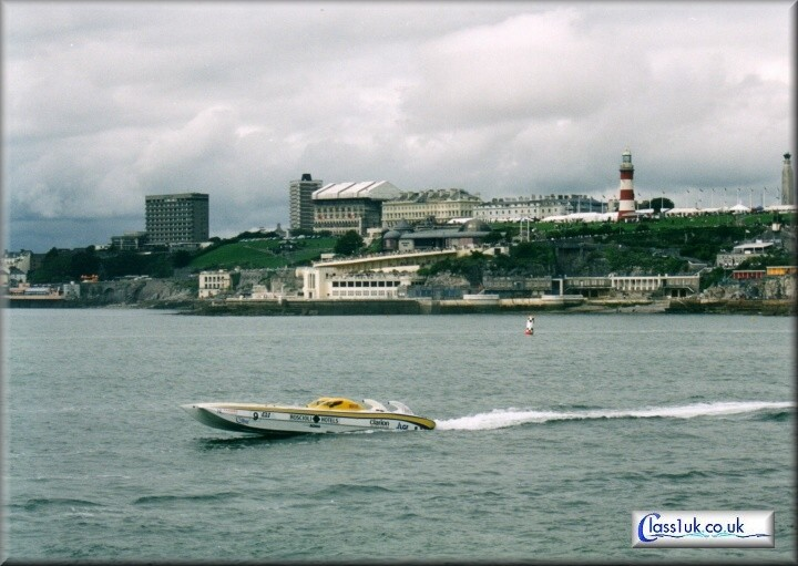 The British Grand Prix 2004 - Plymouth.